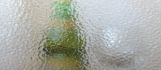 Textured Clear Glass